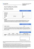 Domiciliación bancaria 2017