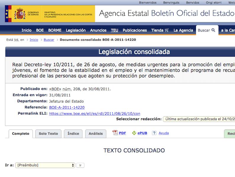 El contrato de formación y aprendizaje tras el RD Ley 10/2011