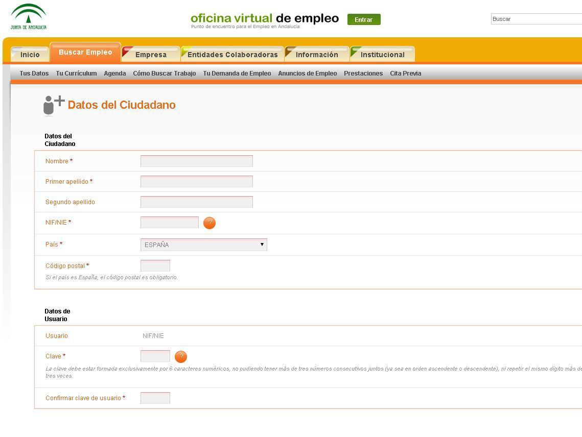 Ya est habilitada la plataforma de bono empleo joven para for Oficina virtual de empleo sellar