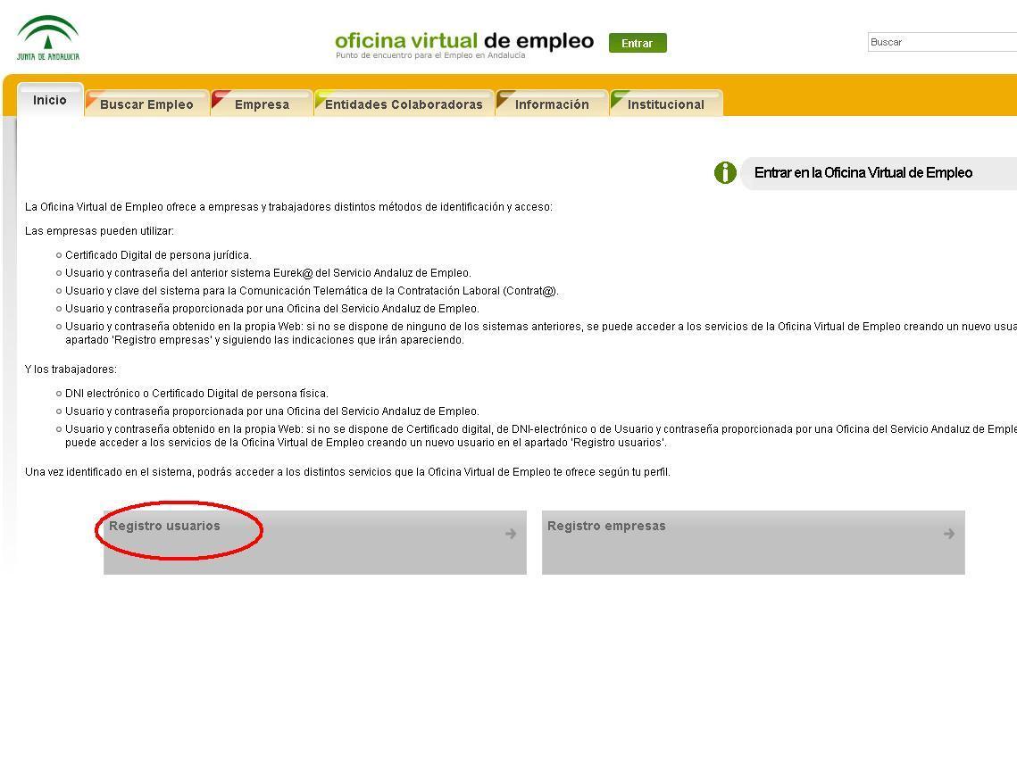 Ya est habilitada la plataforma de bono empleo joven para for Oficina virtual de enpleo