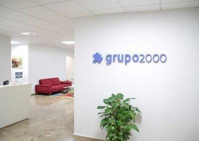 Hall oficinas centrales Grupo2000