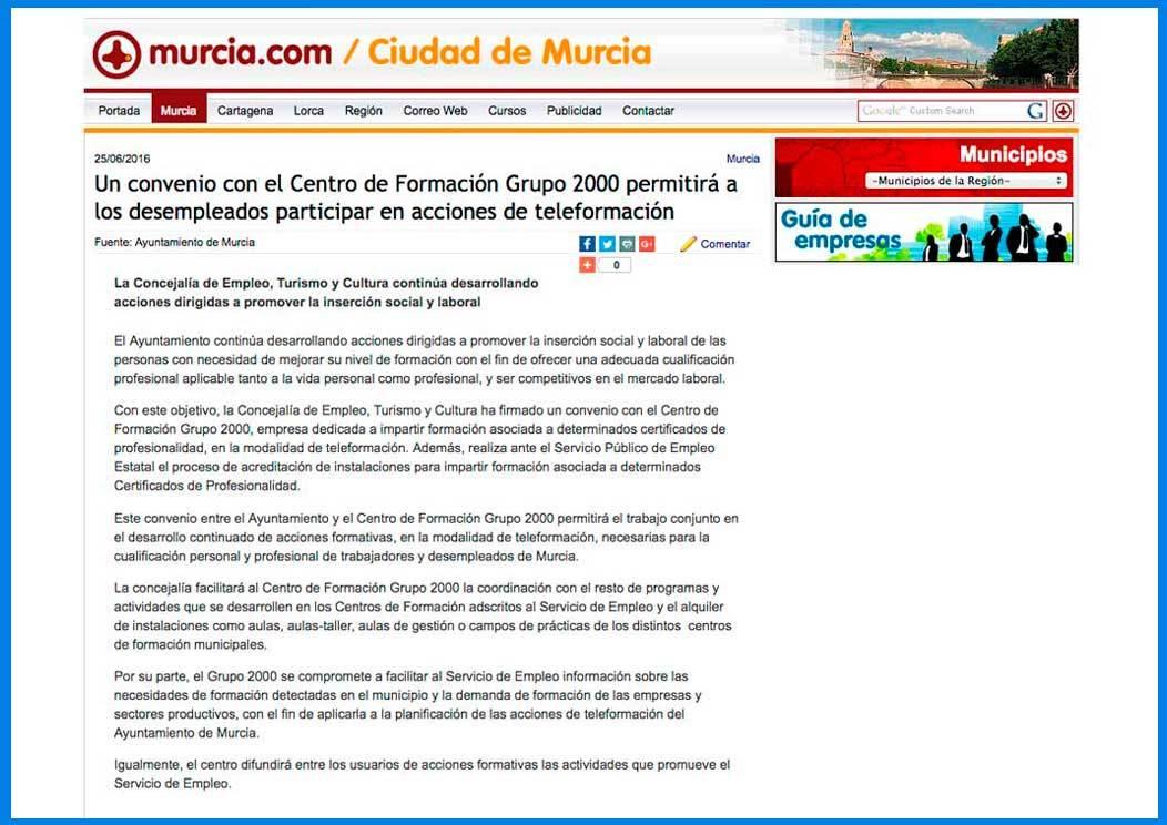 Convenio Murcia Grupo2000