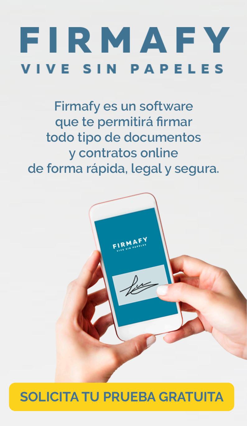 Firmafy - Solicita tu prueba gratuita
