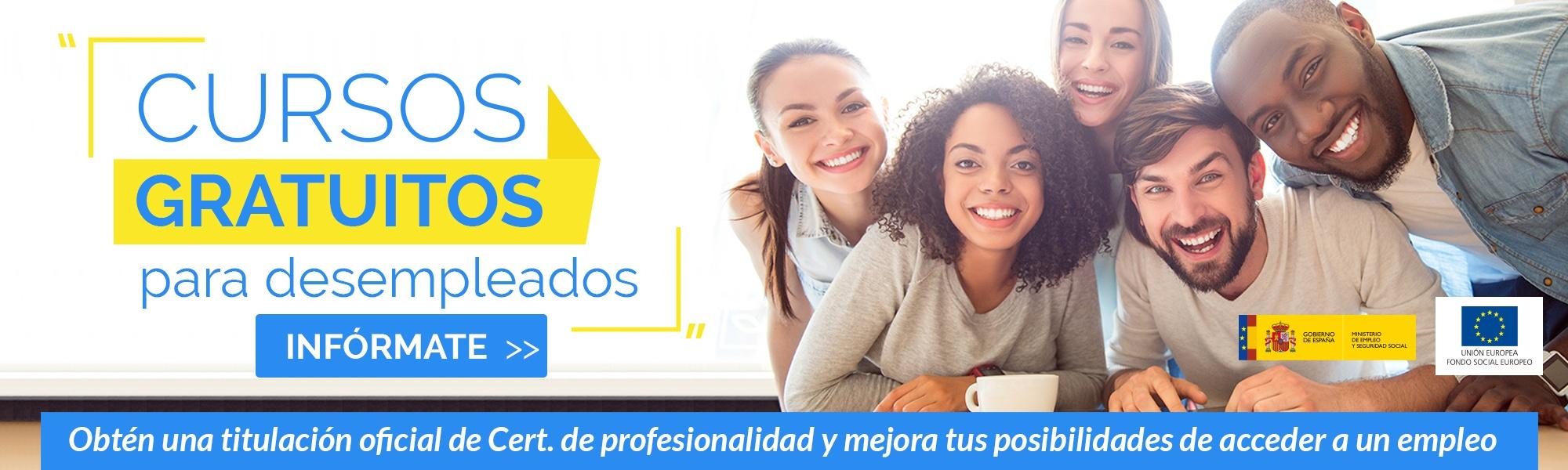 Convocatoria de cursos gratuitos para desempleados de Grupo2000