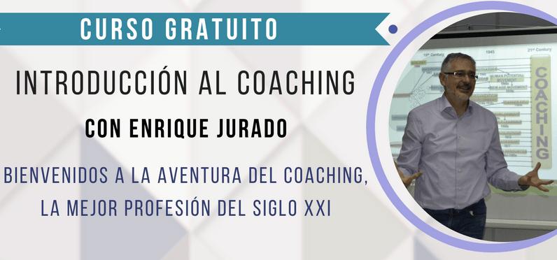 Taller gratuito de coaching impartido por Enrique Jurado en Almería
