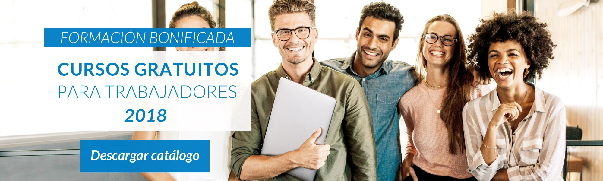 Catálogo de cursos 2018 FORMACIÓN BONIFICADA - Grupo2000