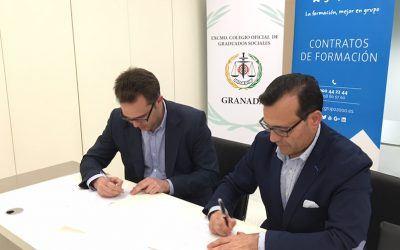 Grupo2000 firma un acuerdo con el Colegio de Graduados Sociales de Granada