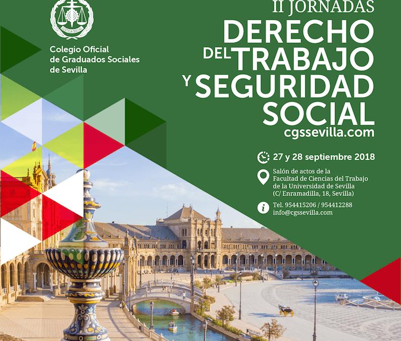 Grupo2000 colabora en las II Jornadas de Derecho del Trabajo y Seguridad Social en Sevilla