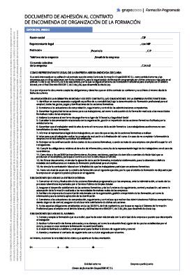 Contrato de Encomienda
