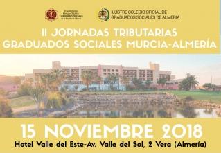 II Jornada Tributaria Murcia y Almería en las que colaboramos
