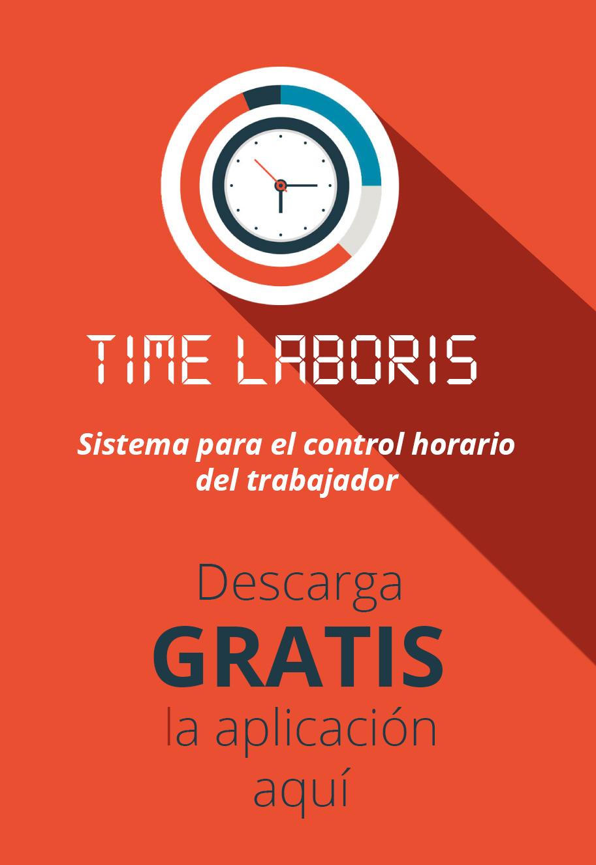 Time laboris aplicación para el registro de la jornada