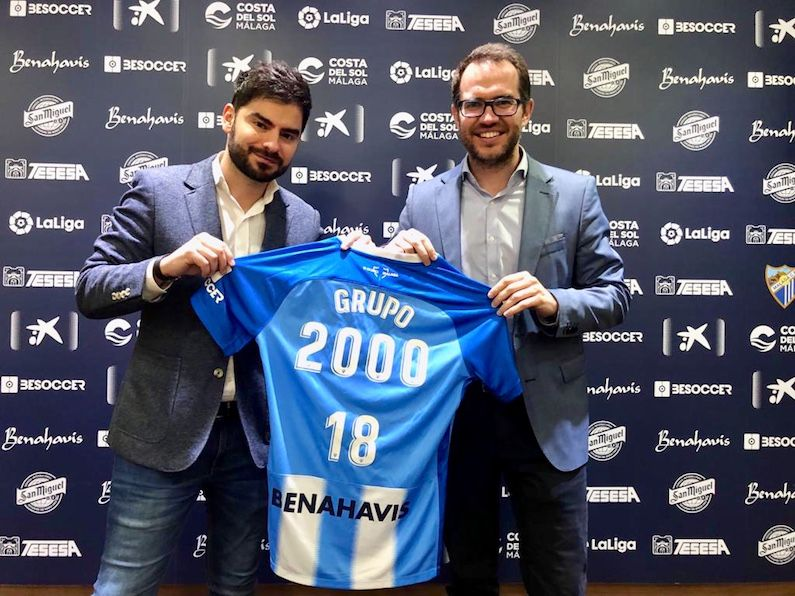 Grupo2000 ha sido escogido por el Málaga CF para formar a su plantilla
