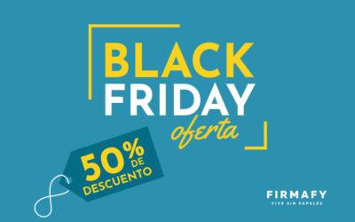 Consigue aquí el Cupón de Descuento especial Black Friday en Firmafy