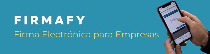 Firmafy, firma electrónica para las empresas