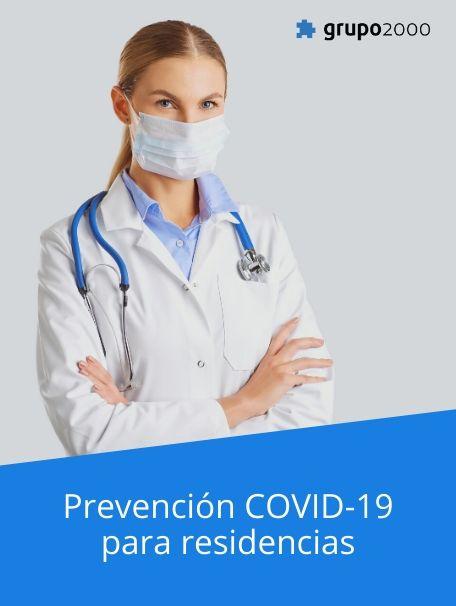 Curso de Prevención COVID-19 para residencias
