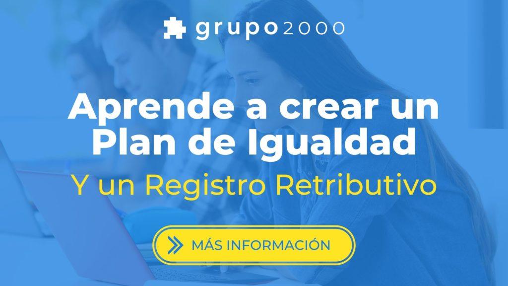 curso para crear un plan de igualdad y un registro retributivo