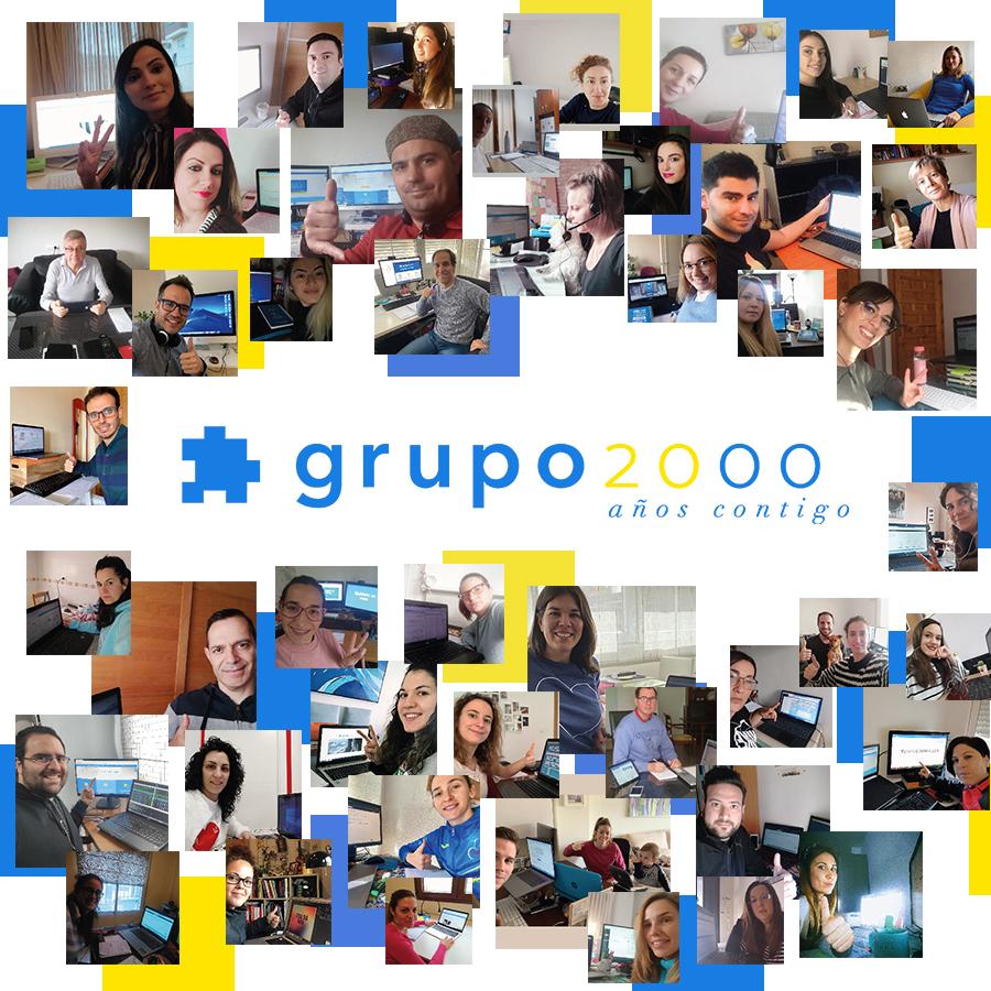 20 años contigo grupo2000
