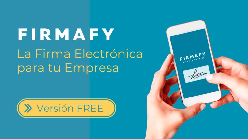 Firmafy firma electrónica