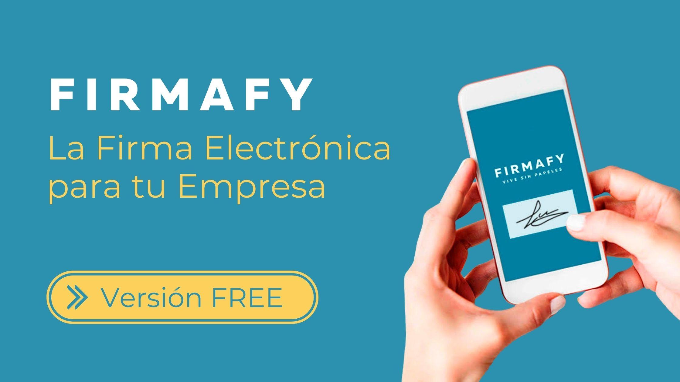 Firmafy. Firma electrónica para tu empresa