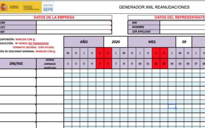 Instrucciones para los trámites de los ERTES con el SEPE