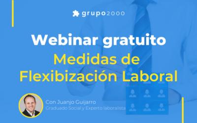 Webinar gratuito sobre Medidas de Flexibilización laboral